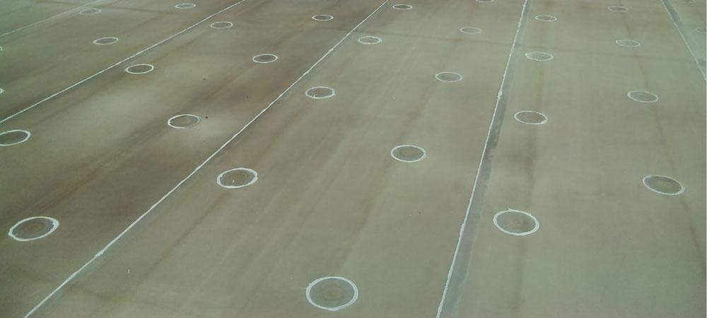 シート防水機械工法